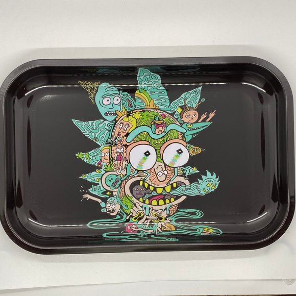Other - Rick and Morty Rolling Tray 7 X 11""